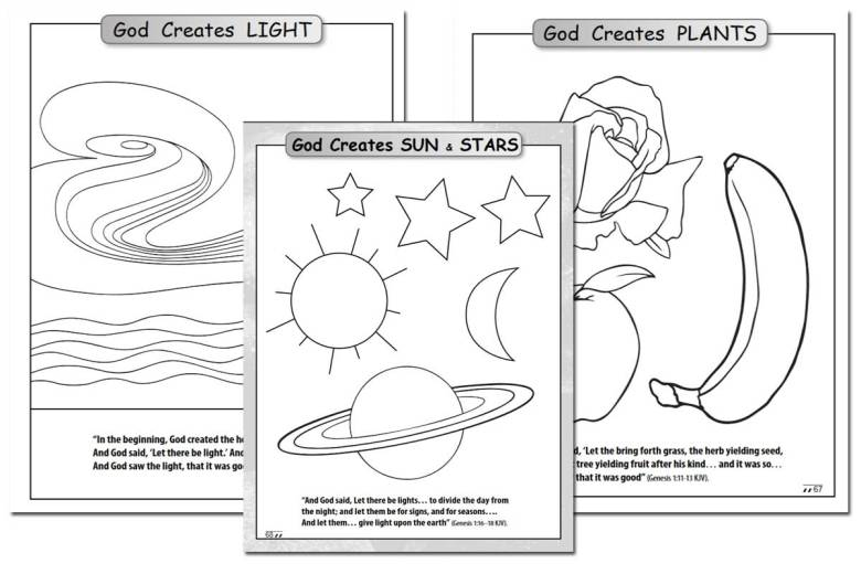 Days of Creating Coloring Book {Free}