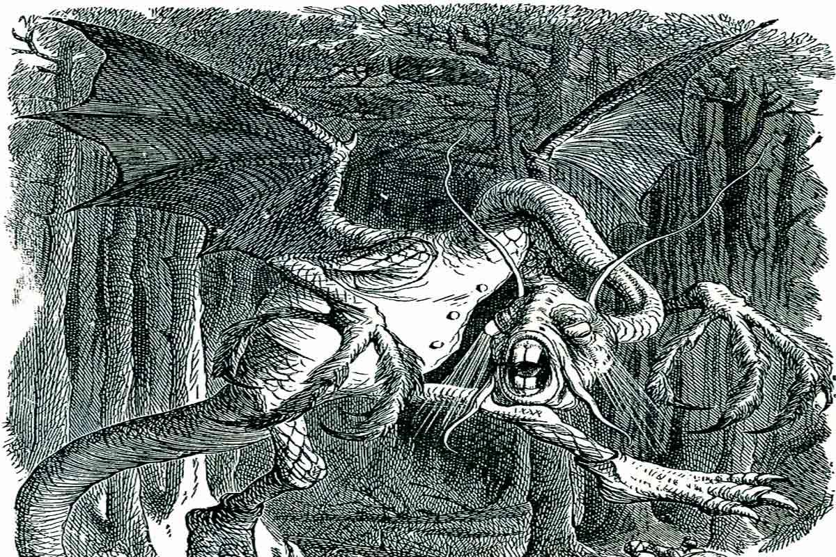 """""""Jabberwocky"""" by Lewis Carroll"""