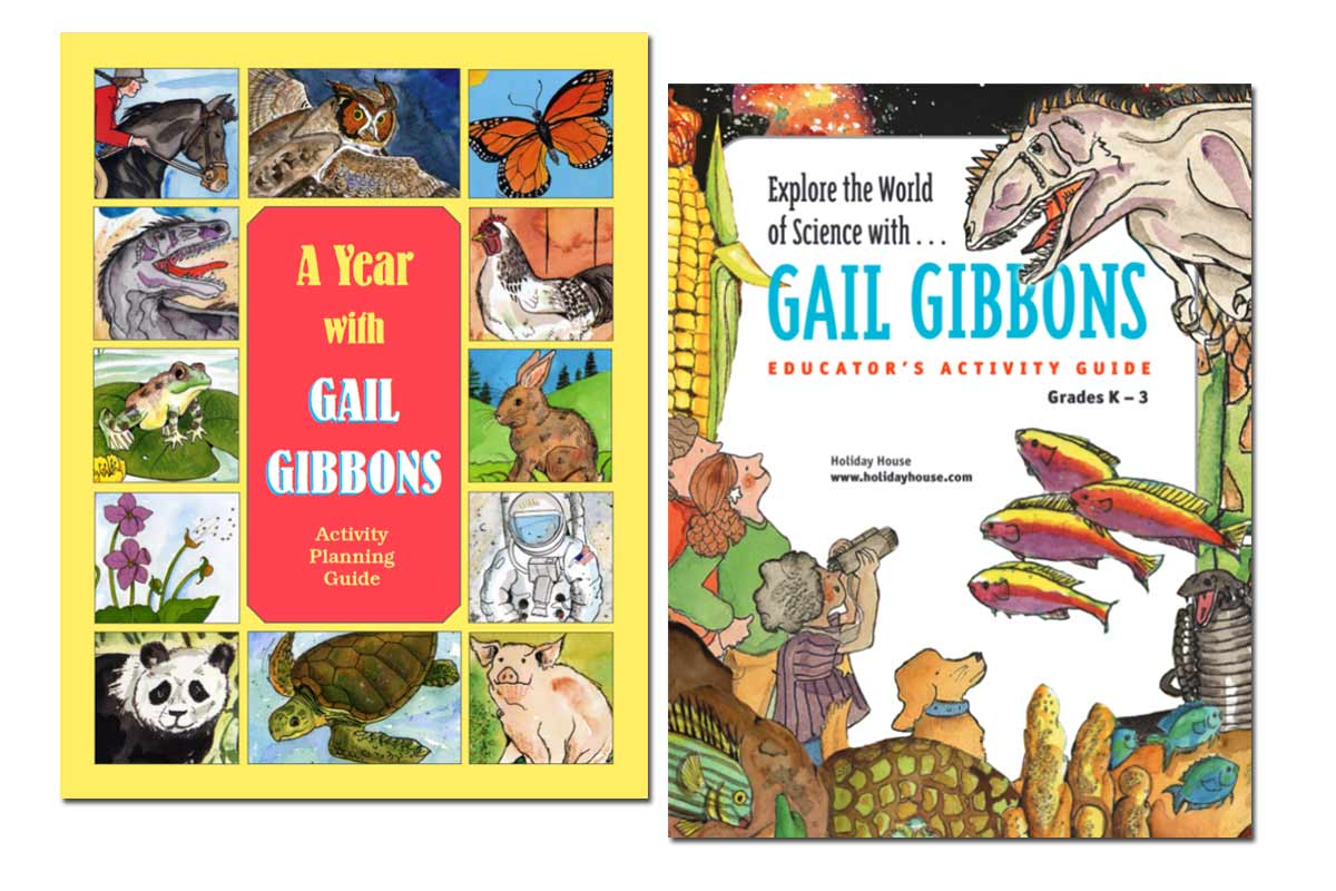 Gail Gibbon's Science Educator Guides ~ Free!