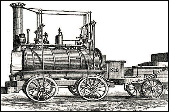 The Steam Locomotive: A Unit Study