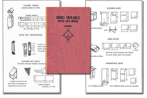 Bird Houses Boys Can Build {Free eBook}