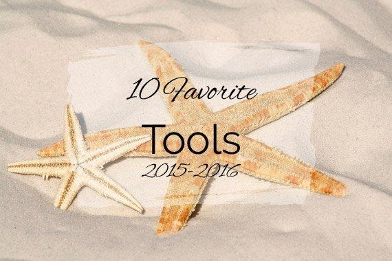 10 Favorite Tools {2015–2016}