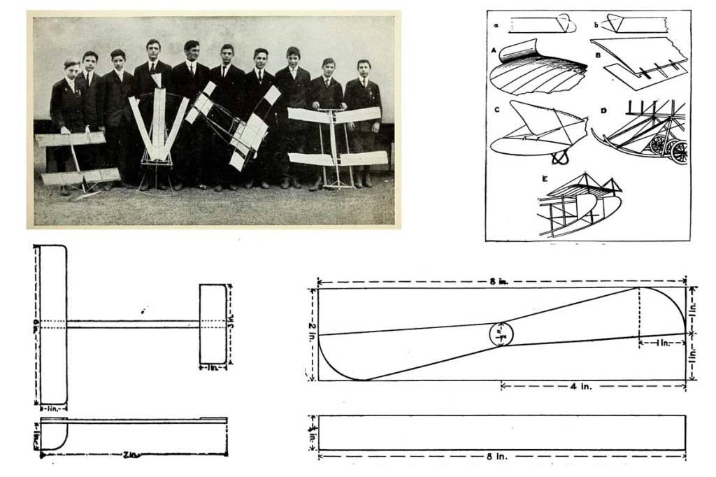 Second Boys' Book of Model Aeroplanes ~ Free eBook
