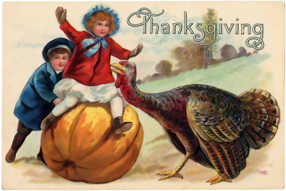 The Children's Book of Thanksgiving Stories {Free eBook}