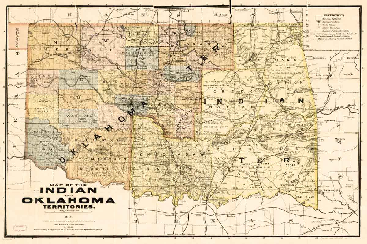 The Creation of Indian Territory: A Unit Study
