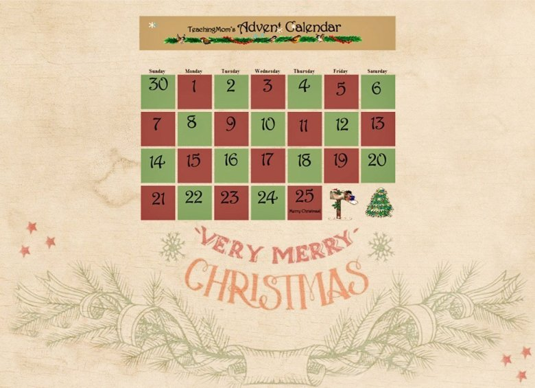 Advent Calendar Unit and Activities {Free}