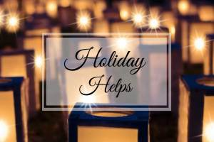 Holiday Helps {Free Holiday Unit Studies}
