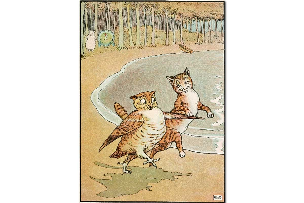"""""""The Owl and the Pussycat"""" by Edward Lear"""