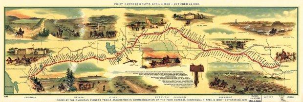 The Pony Express: A Unit Study