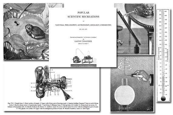 Popular Scientific Recreations {Free eBook}