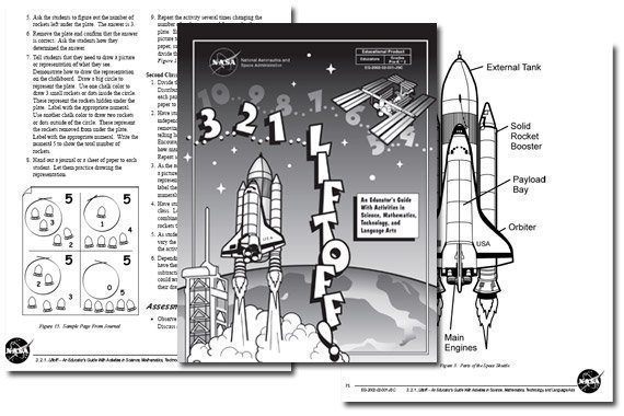 NASA Pre-K – 2 Educator Guide {Free}