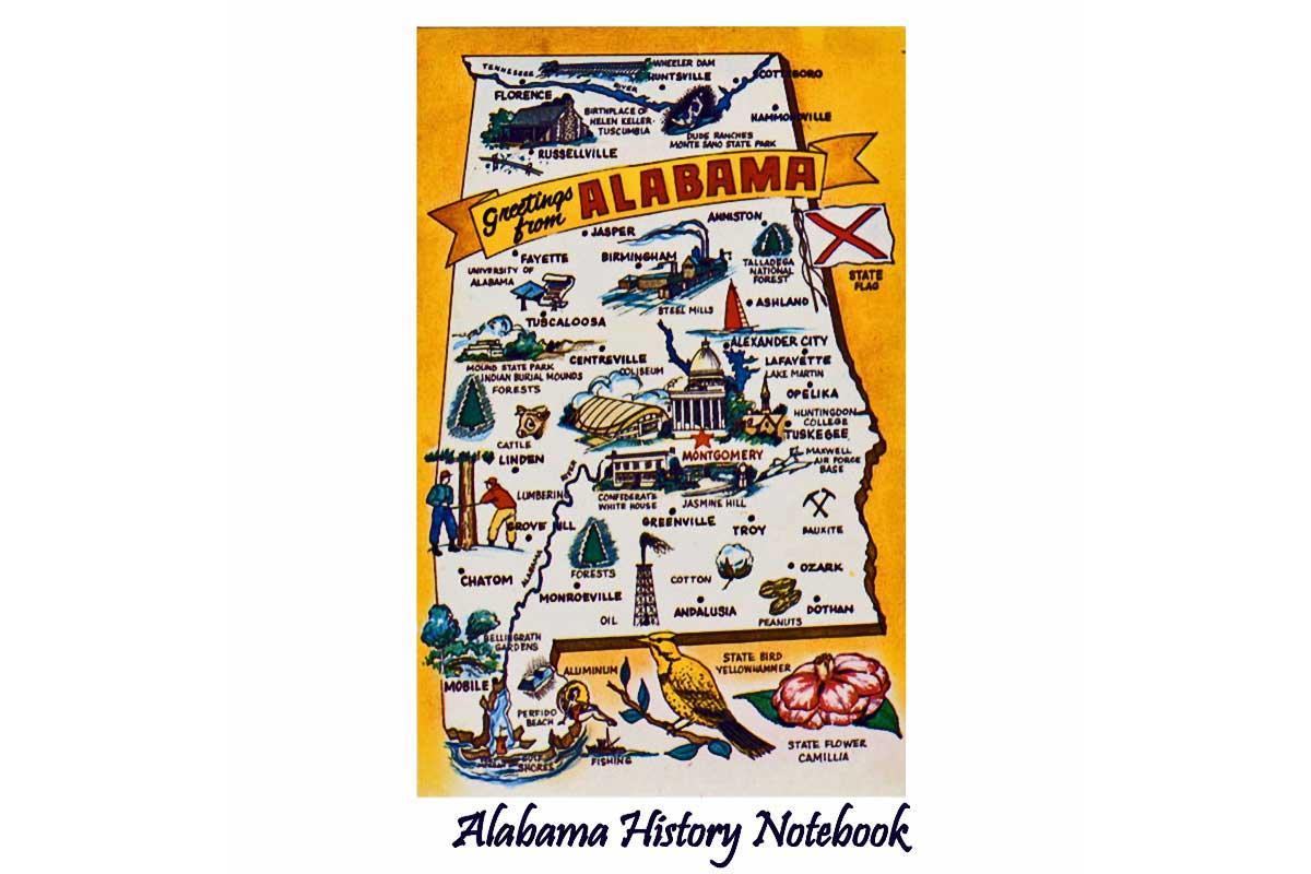 Alabama History Notebook ~ Free