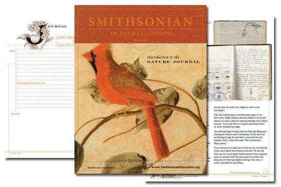 Smithsonian Nature Journal Instruction {Free}
