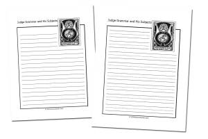 Grammar-land {Free eBook and Notebooking Pages}