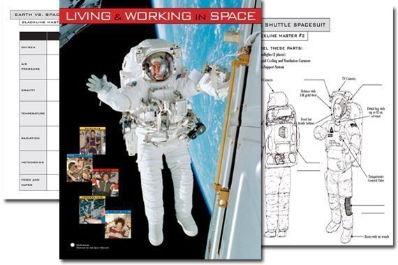 Smithsonian Space Exploration Poster & Activities {Free}
