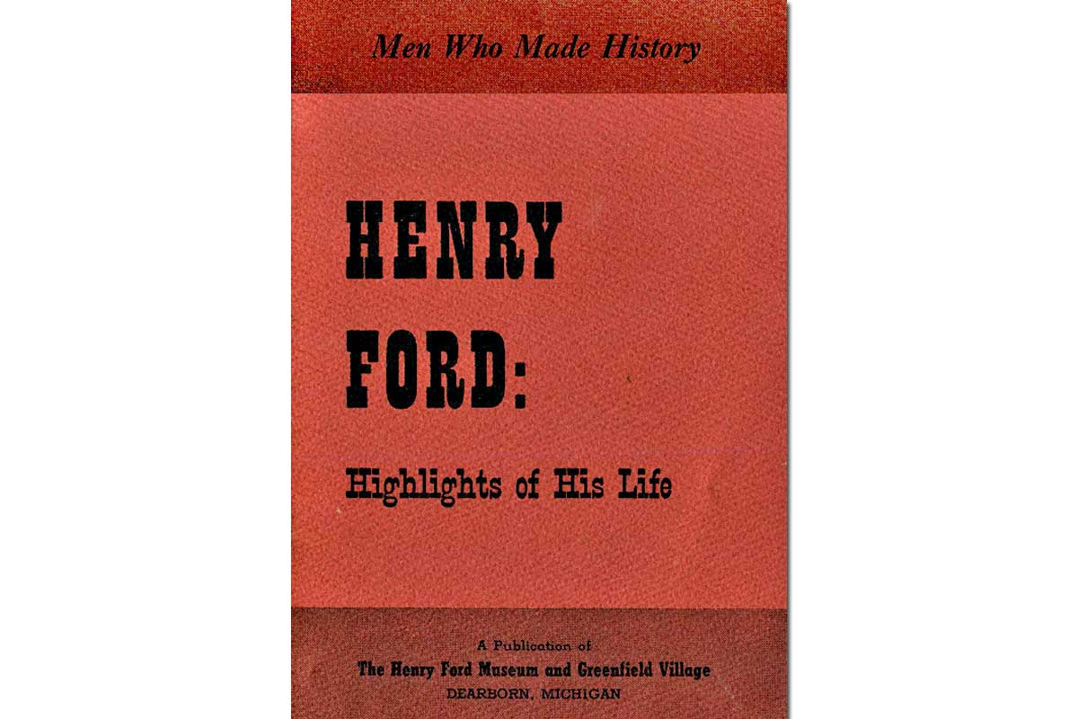 Henry Ford {Free eBook}