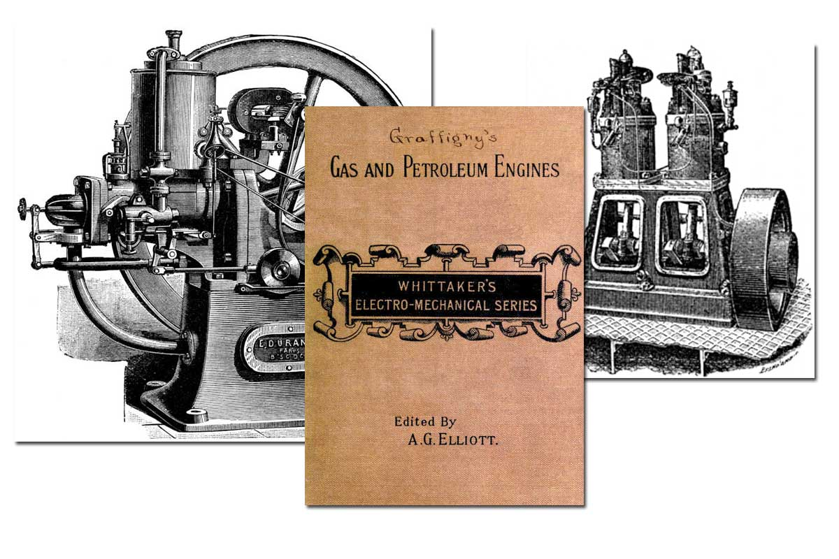 Gas and Petroleum Engines {Free eBook}
