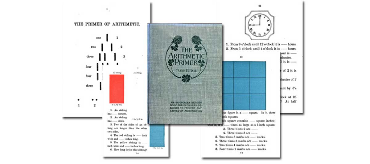 The Arithmetic Primer by Frank H. Hall {Free eBook}