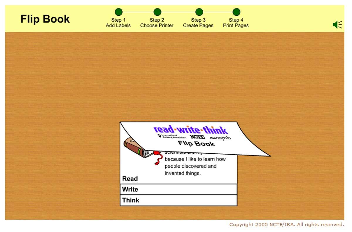 Interactive Flip Book Maker {Free}