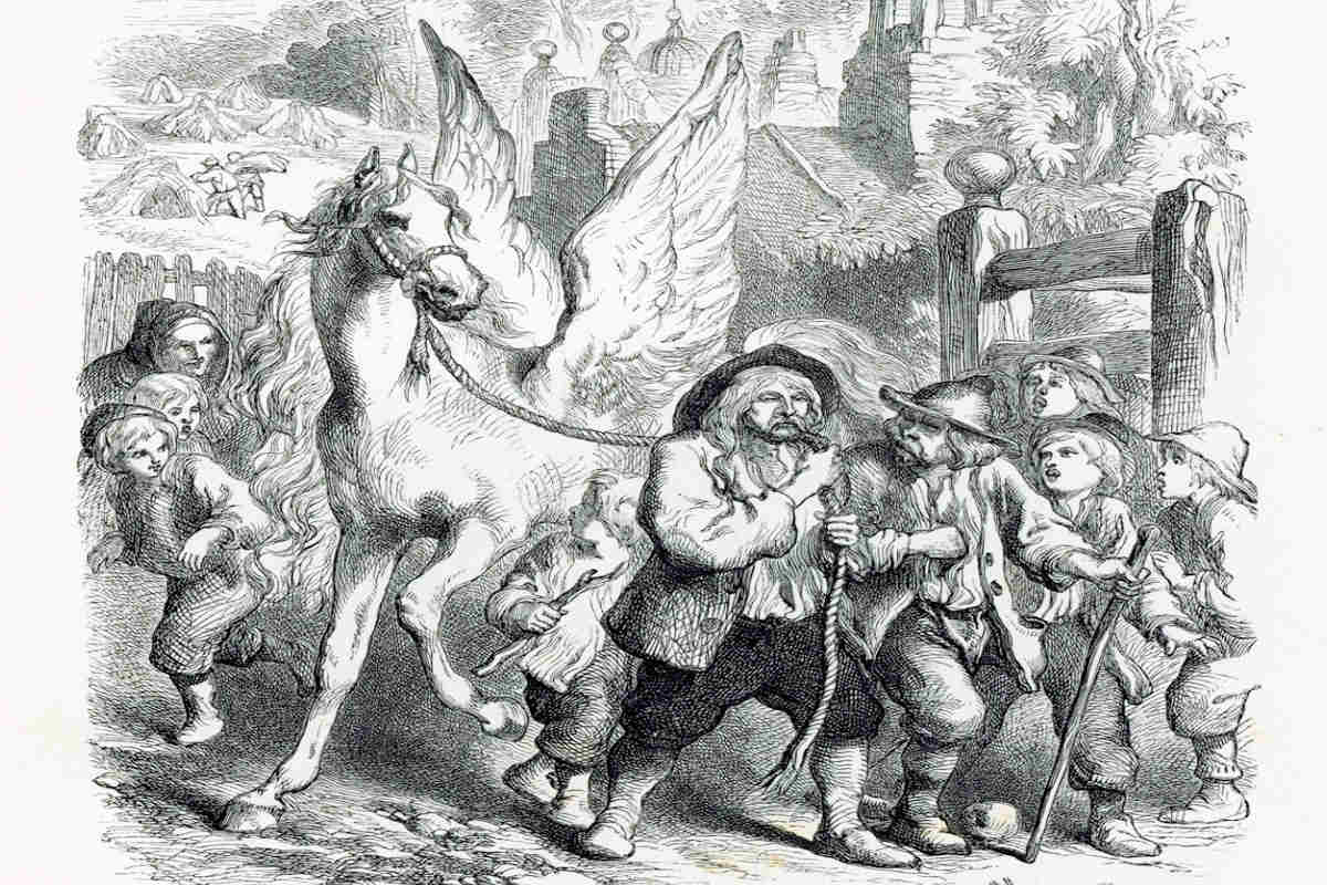 """""""Pegasus in Pound"""" by Henry Wadsworth Longfellow"""