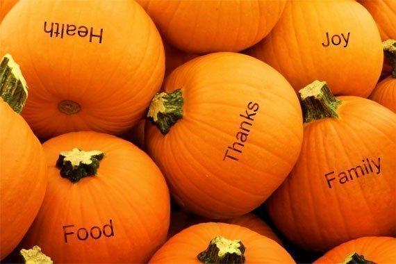 Holiday Fun Activity: Thankful Pumpkins