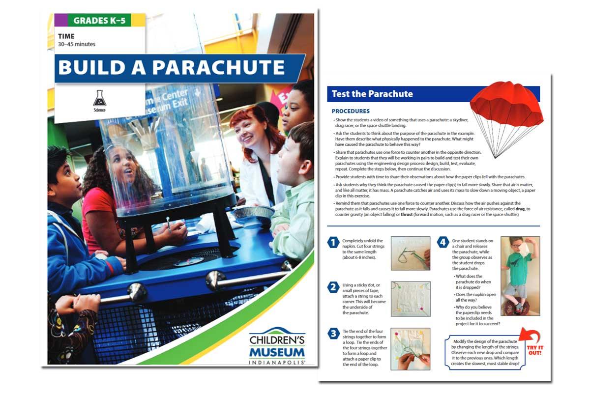 Summer Fun Activity: Build a Parachute