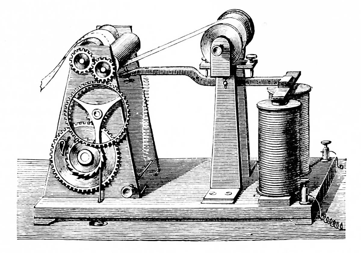 Morse and the Telegraph {Free Unit}