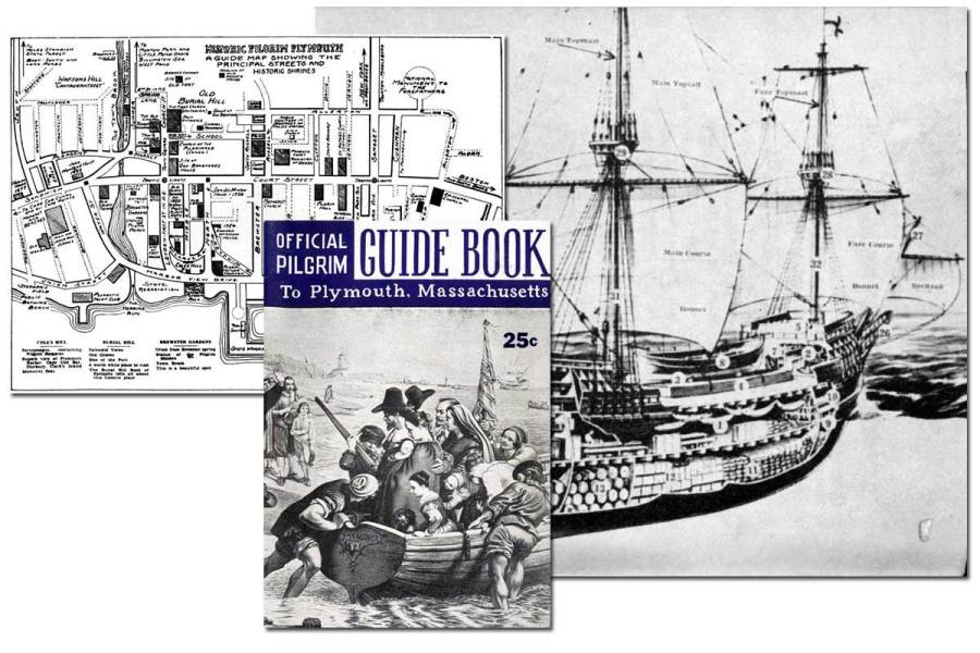 Official Pilgrim Guide Book to Plymouth ~ Free eBook