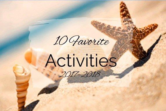 10 Favorite Activities {2017–2018}