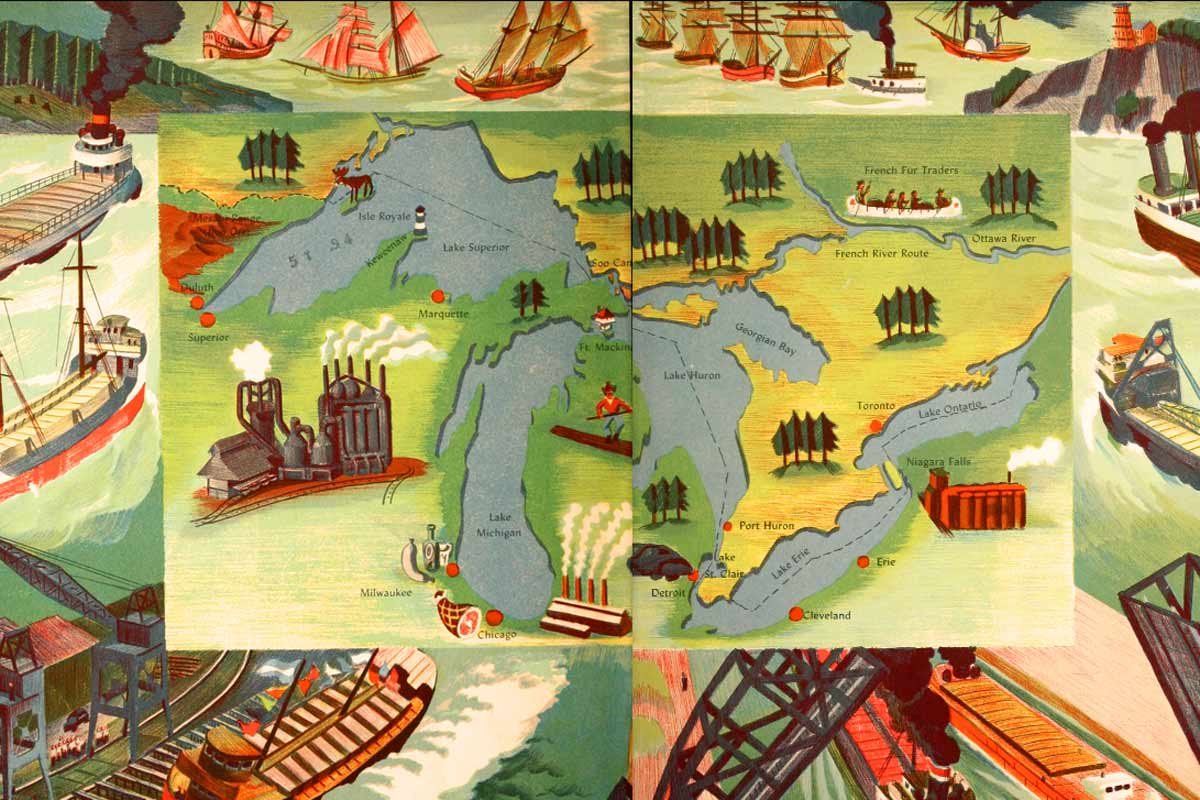 Story of the Great Lakes ~ Free eBook
