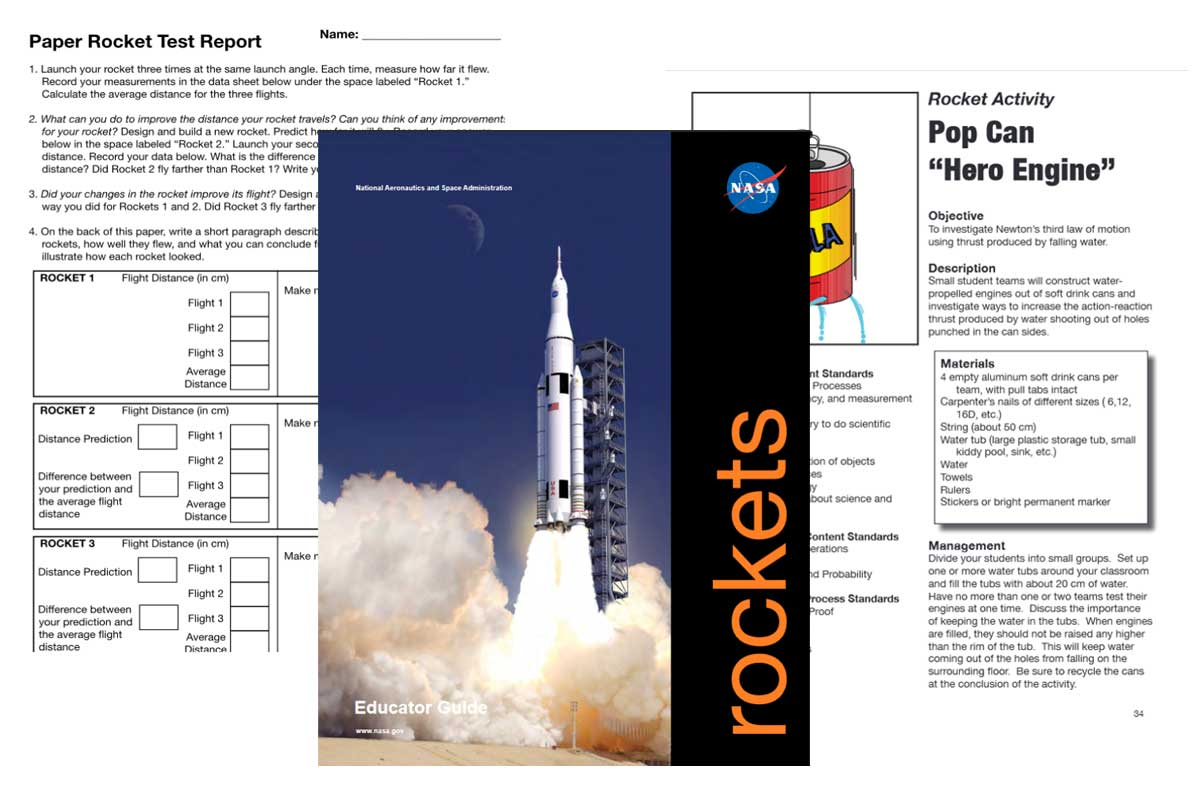 NASA Rockets Educator Guide ~ Free