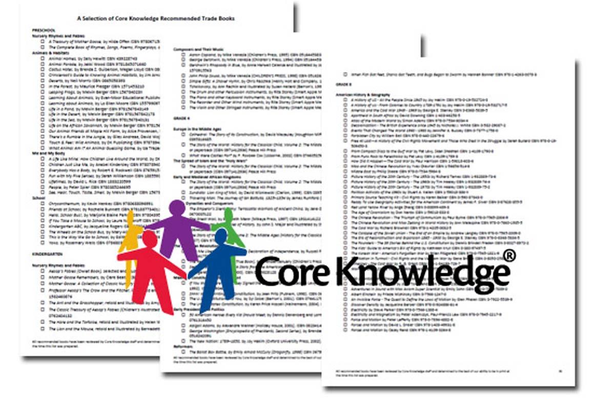 Core Knowledge PreK–8 Book List {Free}