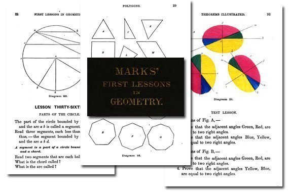 Marks' First Lessons in Geometry {Free eBook}