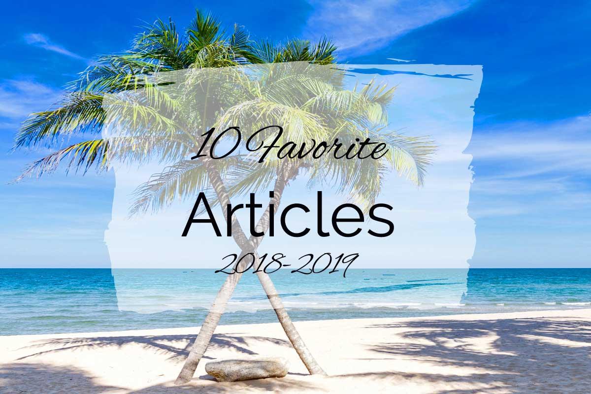 10 Favorite Articles {2018–2019}