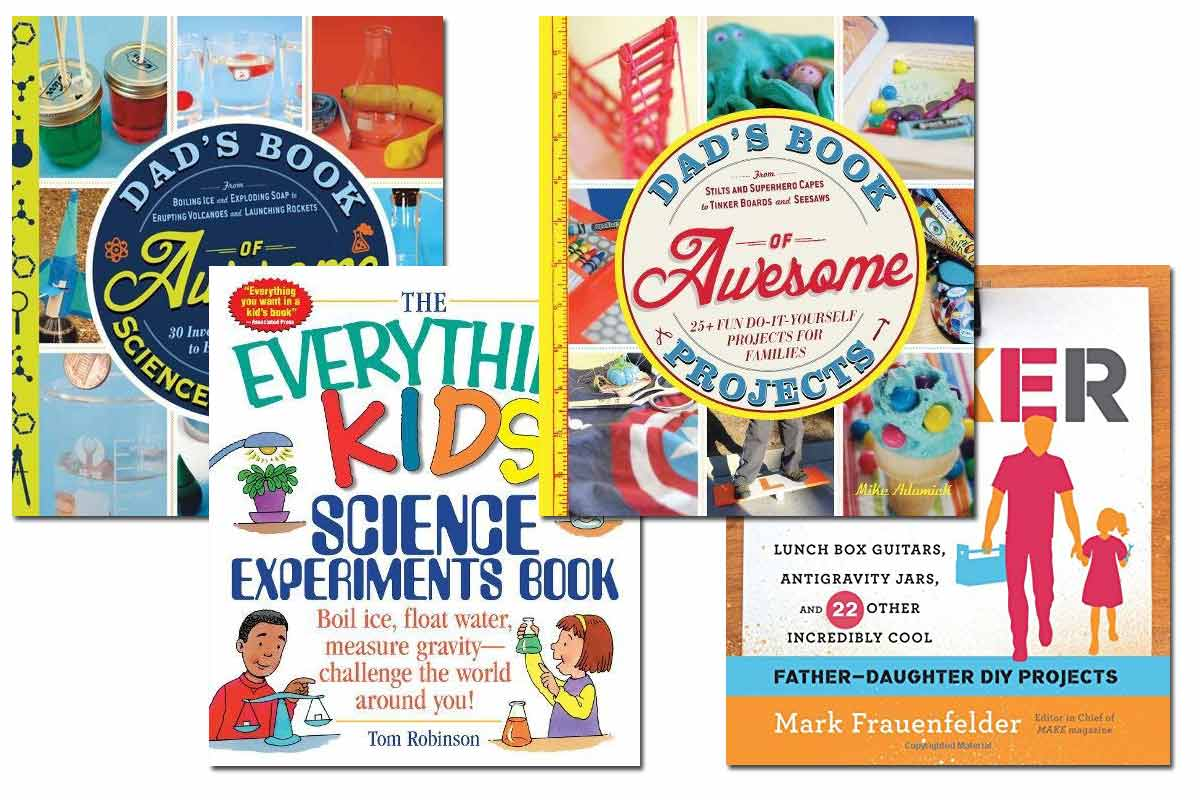 4 Awesome Dad DIY Books ~ Free