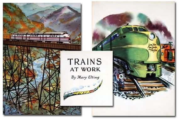 Trains At Work {Free eBook}