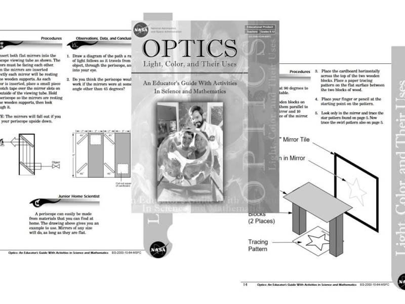 Summer Fun Activity: NASA Optics Educator's Guide