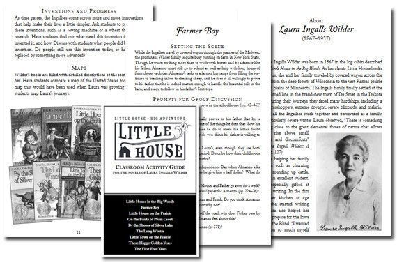 Little House Activity Guide {Free}