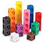Math link cubes