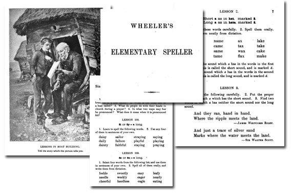 Wheeler's Elementary Speller {Free eBook}