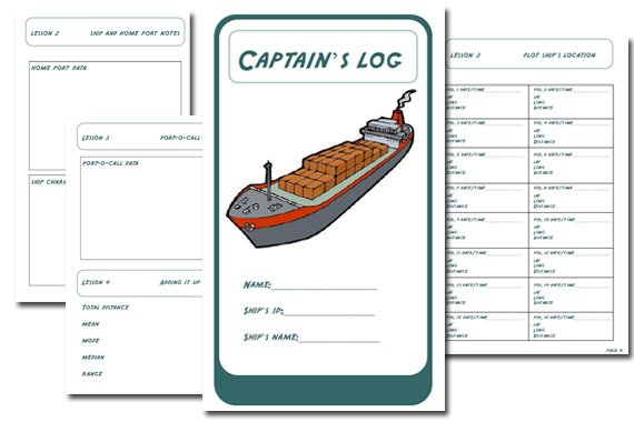 Port-to-Port Ship's Journey Curriculum {Free}