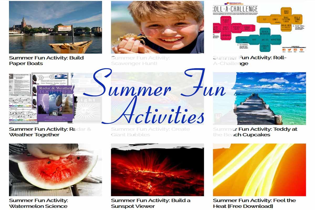 Summer Fun Activities