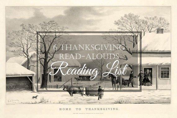 6 Favorite Thanksgiving Read-Aloud Books
