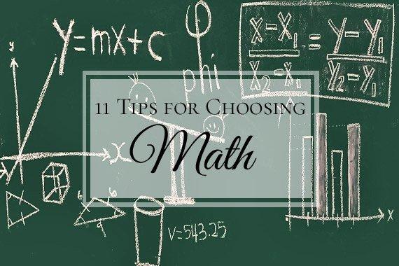 11 Tips for Choosing a Math Program