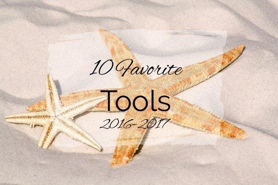 10 Favorite Tools {2016–2017}