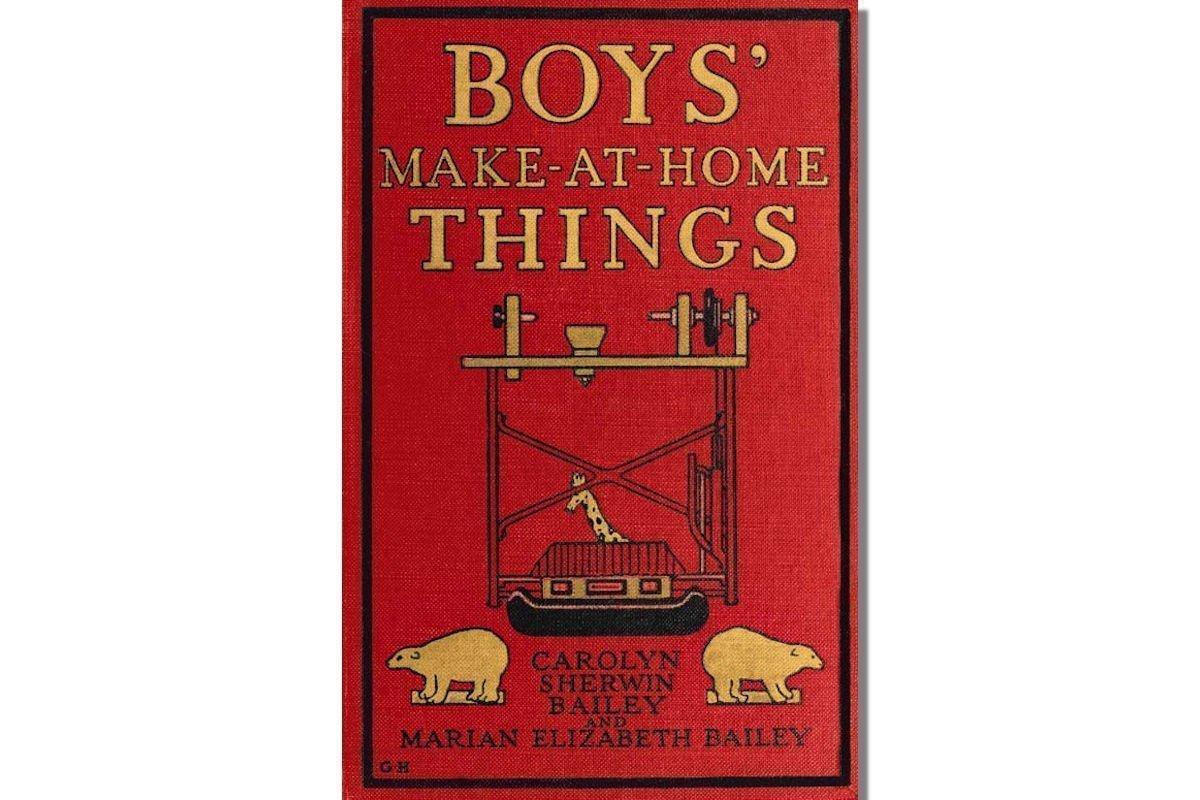 Boys' Make-at-Home Things {Free eBook}