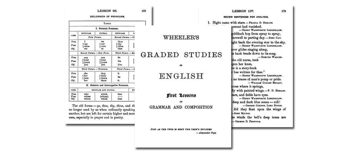 Wheeler's Graded Studies in English {Free eBook}