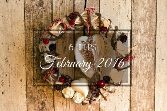 6 Tips for February 2016