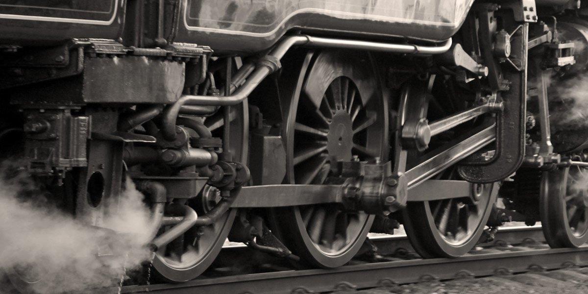"""The Railway Train"" by Emily Dickinson"
