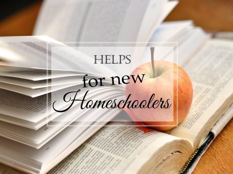 Helps for New Homeschoolers Series